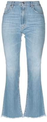 (+) People + PEOPLE Denim pants - Item 42713758VM