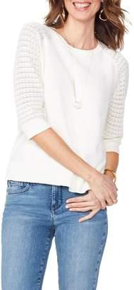 NYDJ Pointelle Sweater