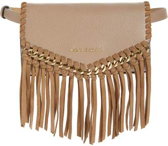 MICHAEL Michael Kors Fringe Leather Belt Bag