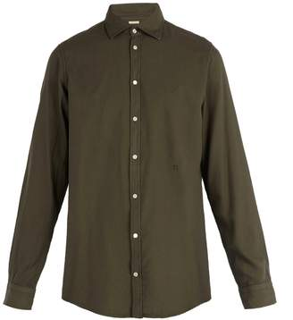 Massimo Alba Long-sleeved cotton-blend shirt