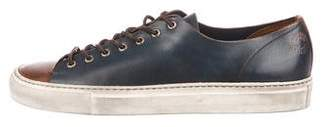 Buttero Cap-Toe Leather Sneakers
