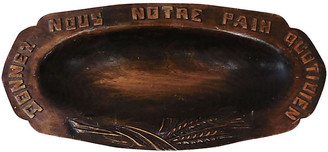 One Kings Lane Vintage French Carved Wood Bread Platter - majolicadream