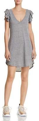 Chaser Flutter-Sleeve T-Shirt Dress