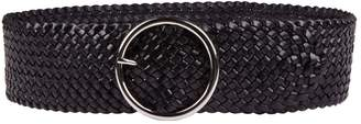 Andersons Leather Weave Belt