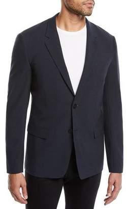 Theory Men's Gansevoort Function Seersucker Jacket