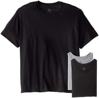 Hanes Ultimate Men's 4-Pack Classics Comfort Soft Dyed Crew T-Shirt