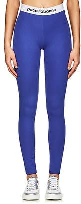 Paco Rabanne Women's Logo-Jacquard Jersey Leggings