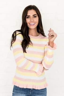 Everyday ShopRachel Parcell Hi Honey Striped Sweater