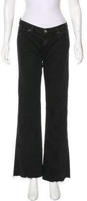 IRO Mid-Rise Wide-Leg Jeans