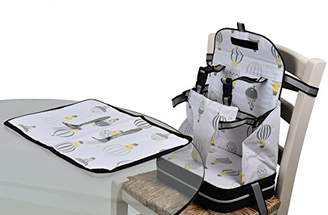 Baby Polar Gear 5 Point Harness Booster Seat and Placemat Set