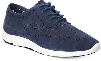 Cole Haan Zerogrand Wingtip Lace-Up Oxfords $200 thestylecure.com