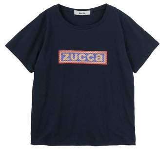 Zucca (ズッカ) - ZUCCa (S)エンブロイダリーロゴTシャツ / Tシャツ