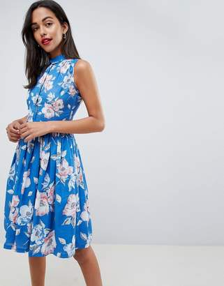French Connection Floral Shirt Dress