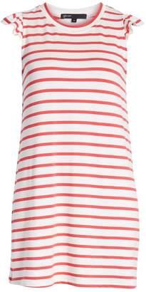 Gibson x Hi Sugarplum! Laguna Soft Jersey Ruffle Back T-Shirt Dress (Regular & Petite) (Nordstrom Exclusive)