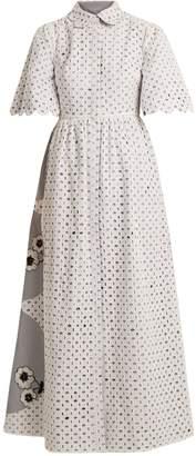 DAY Birger et Mikkelsen HUISHAN ZHANG Cordon reversible broderie-anglaise dress
