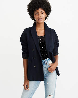 Abercrombie & Fitch Double Breasted Blazer