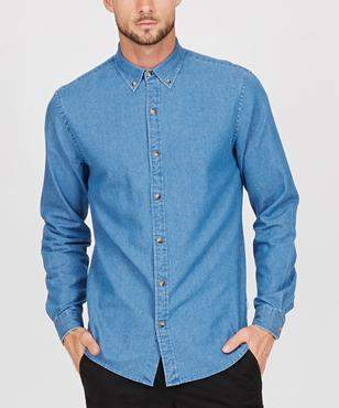 Spencer Project Dalston2 Long Sleeve Shirt Denim