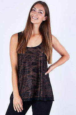 NEW Rebecca Ruby Womens Tanks Kinetic Lined Swing Top