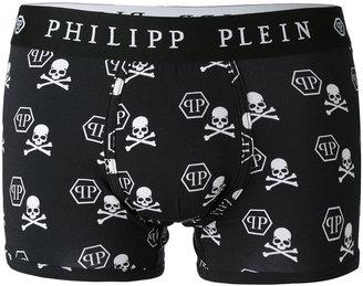 Philipp Plein skull print boxers $90 thestylecure.com
