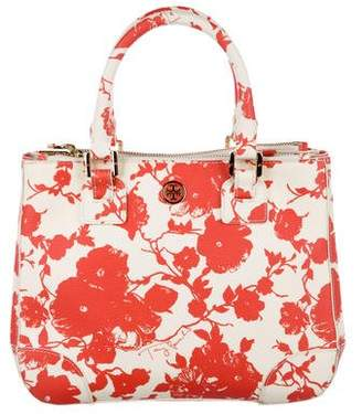 Tory Burch Printed Saffiano Leather Tote