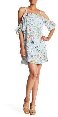 Sanctuary Primrose Cold Shoulder Floral Print Dress