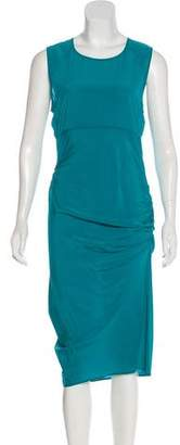 Gryphon Silk Midi Dress w/ Tags