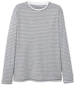 Mango man MANGO MAN Striped cotton t-shirt