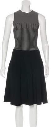 Milly Midi Sleeveless Knit Dress
