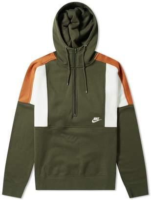 Nike Re-Issue Half Zip Fleece Hoody