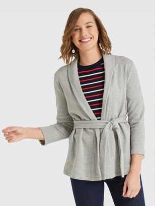 Draper James Shawl Collar Cardigan