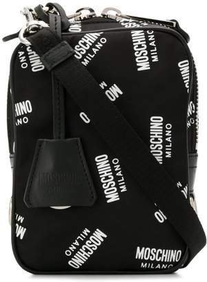 Moschino all over logo messenger