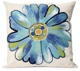 Visions III Daisy Indoor and Outdoor Square Pillow