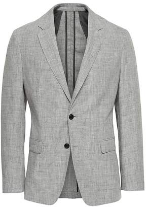Banana Republic Heritage Slim Linen Suit Jacket