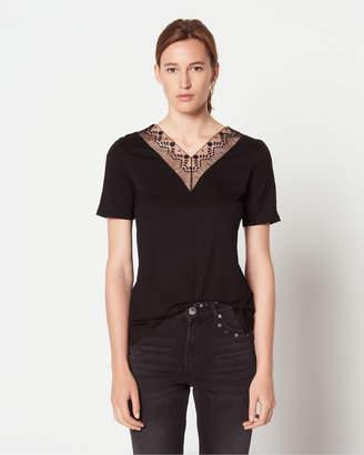 Sandro Coquelicot T-Shirt