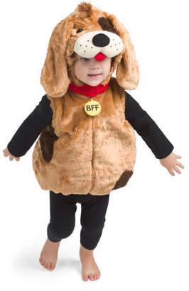 Baby Boy Puppy Plush Bubble Costume