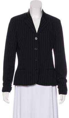 Ralph Lauren Black Label Wool Pinstripe Blazer
