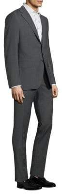 Boglioli Alton Microcheck Wool Suit