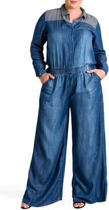 Standards & Practices Kira Wide Leg Jumpsuit