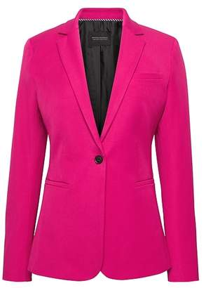 Banana Republic Long and Lean-Fit Bi-Stretch Solid Blazer
