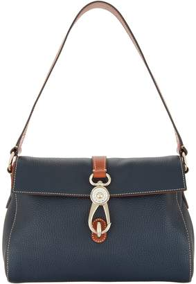 Dooney & Bourke Pebble Leather Libby Shoulder Bag