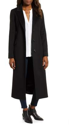 Fleurette Modern Loro Piana Wool Reefer Coat
