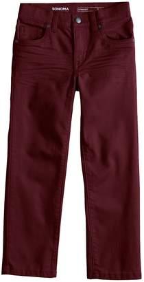 Sonoma Goods For Life Boys 4-12 SONOMA Goods for Life Straight Pants in Regular, Slim & Husky