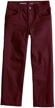 Sonoma Goods For Life Boys 4-12 SONOMA Goods for Life Straight Comfy Waist Pants in Regular, Slim & Husky