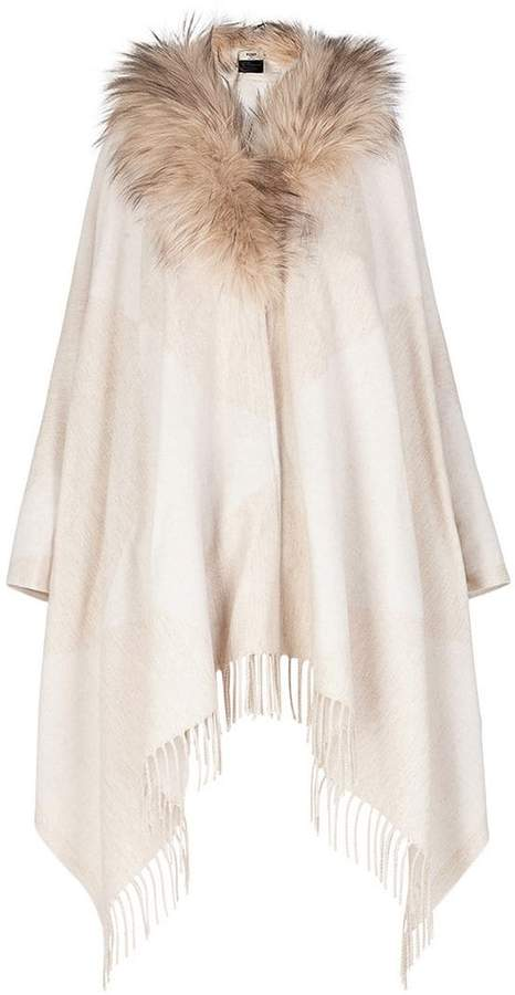Touch of Fur poncho