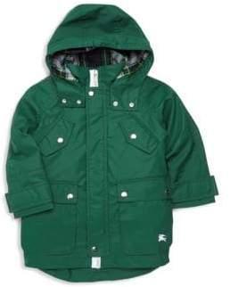 Burberry Little Boy's& Boy's Liam Sherpa-Lined Coat