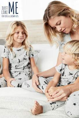 Next Boys Grey Older Kids Animal Pyjamas (9mths-16yrs)