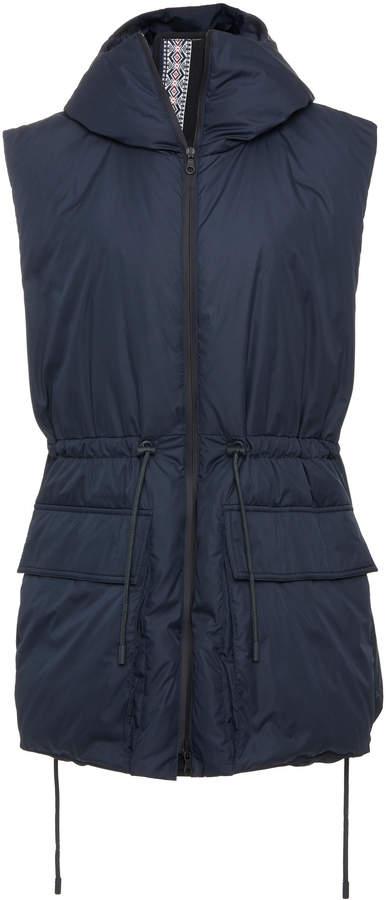 Sportmax Foscari Hooded Shell Vest