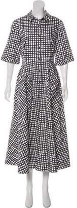 Saloni Printed A-Line Dress