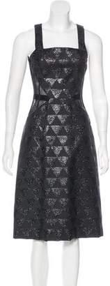 Versus Wool Midi Dress