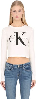 True Icon Cropped Long Sleeve T-Shirt $60 thestylecure.com